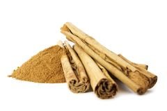 Organic Cinnamon Stock Photo