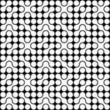 Organic Circle Pattern stock photography