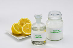 Organic cleaners Stock Images