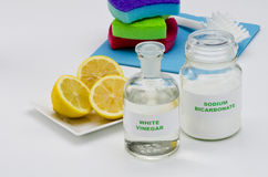 Organic cleaners Royalty Free Stock Photo