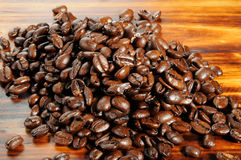 Organic coffee beans Royalty Free Stock Photo