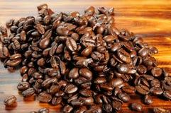 Organic coffee beans Royalty Free Stock Photo