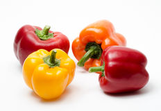Colorful peppers Royalty Free Stock Photos