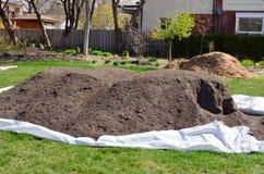 Organic compost Stock Photo