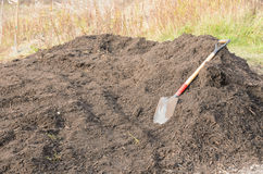 Organic compost Royalty Free Stock Photography