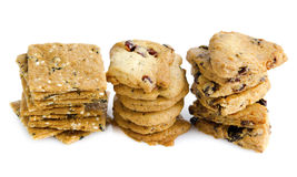 Organic Cookies royalty free stock photo