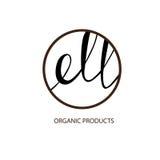organic cosmetic logo Royalty Free Stock Image