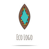 organic cosmetic logo Royalty Free Stock Photography