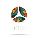 organic cosmetic logo Stock Photo