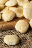 Organic Crunchy Oyster Crackers Stock Images