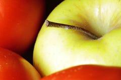Organic cultivation. Still life of fruit texture highlighting organic cultivation Stock Photos