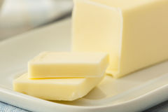 Organic Dairy Yellow Butter Stock Photography
