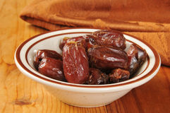 Organic dates Stock Image