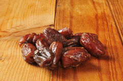 Organic dates Royalty Free Stock Images