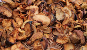 Organic Dried Apples Royalty Free Stock Photo