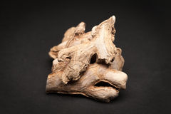 Organic Dried Ginger root. Stock Image