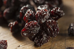 Organic Dry Raisins on the Vine Royalty Free Stock Images