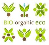Organic, eco symbols Royalty Free Stock Image