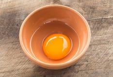 Organic egg Stock Photos