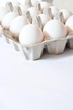 Organic eggs Stock Photos