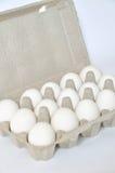 Organic eggs Royalty Free Stock Image