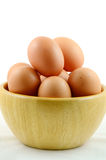 Organic Eggs. Royalty Free Stock Photography