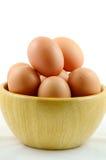 Organic Eggs. Royalty Free Stock Photography