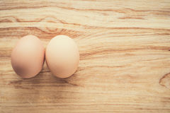 Organic eggs, clean eating concept Royalty Free Stock Images