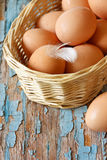 Organic eggs. Stock Photography