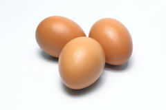 Organic Eggs. Organic Food in thailand.White Background. Stock Photography