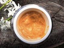 Organic face cream Stock Image