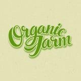 Organic Farm Logo Royalty Free Stock Photos
