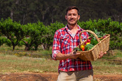 Organic Farmer Royalty Free Stock Photo