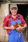 Happy farmer Royalty Free Stock Image