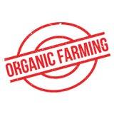 Organic farming rubber stamp Stock Photo