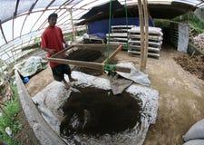 Organic fertilizer Royalty Free Stock Images