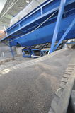 Organic fertilizer production line Royalty Free Stock Image