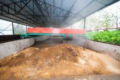Organic fertilizer production line Stock Photos