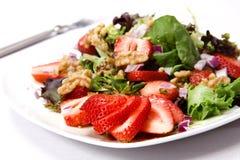 Organic Field Greens Salad Royalty Free Stock Photos