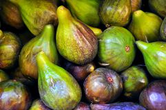 Organic figs background  Stock Image