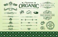 Organic fillet set Stock Photography