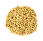 Organic flax seed and hemp granola cereal Stock Images