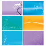 Organic Floral Backgrounds Stock Images