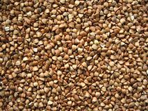 Organic-fod treasure: buckwheat Royalty Free Stock Images