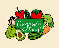 Organic  food Royalty Free Stock Photos