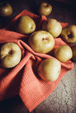Organic food: apples Stock Photo