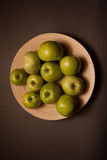 Organic food: apples Royalty Free Stock Image