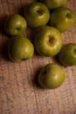 Organic food: apples Royalty Free Stock Photo