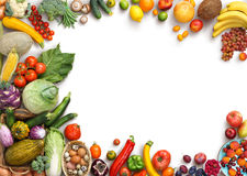 Free Organic Food Background. Food Photography Different Fruits And Vegetables Royalty Free Stock Photos - 68277938