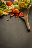 Organic, food, background, fresh, market, summer, wood, design, cook, wooden Royalty Free Stock Images